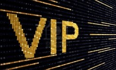 Vip-ticket logo - blk